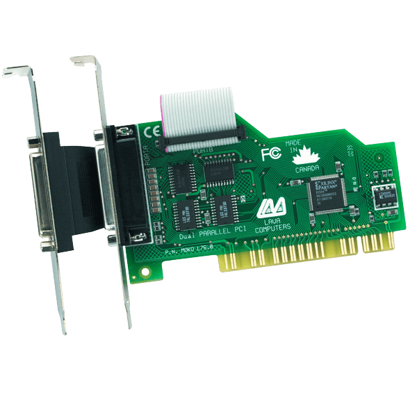 LAVA Dual Parallel-PCI