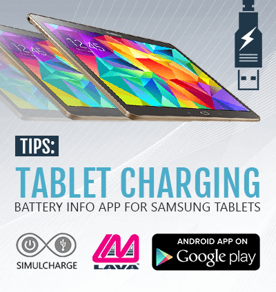 Samsung Tablet Charging Application