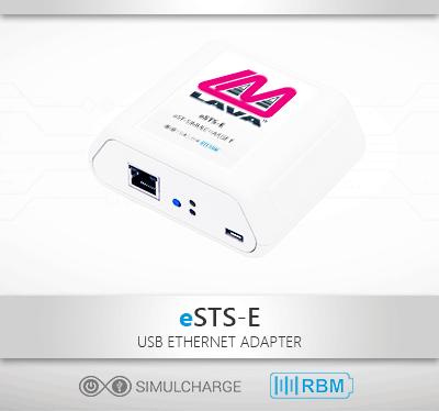 Extended Simulchare Samsung Tablet 2-Port USB Hub & LAN Adapter