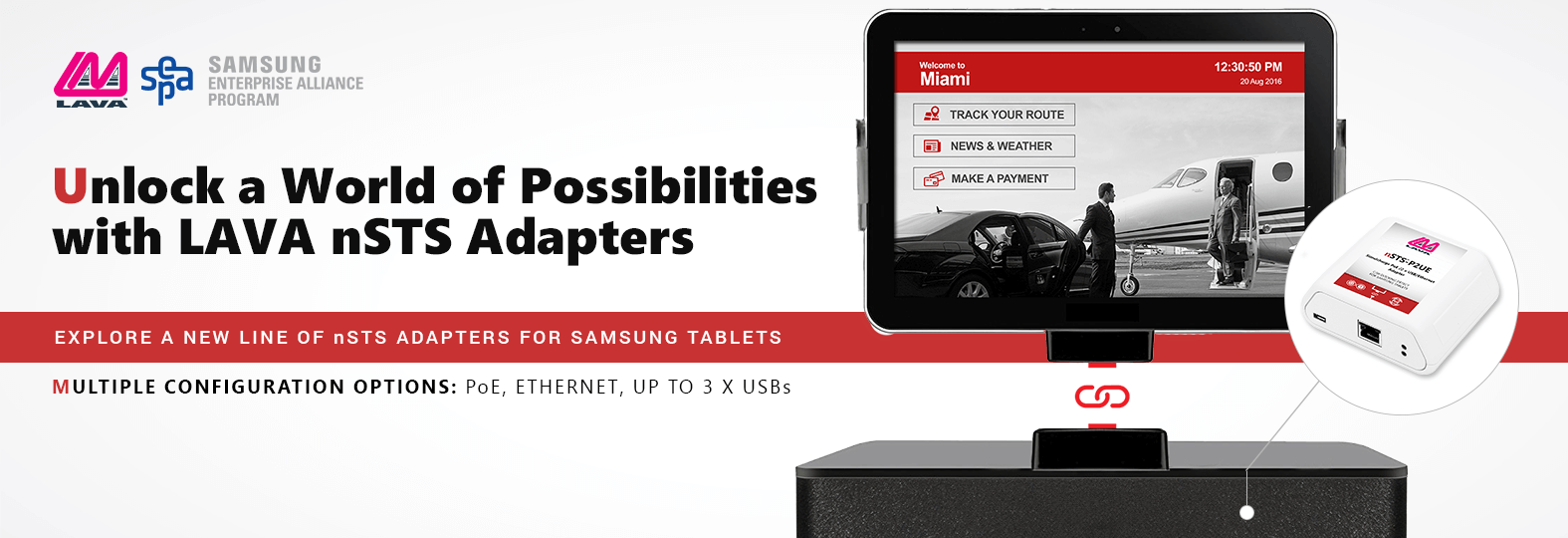 Samsung Tablet Adapters with Docking Detect