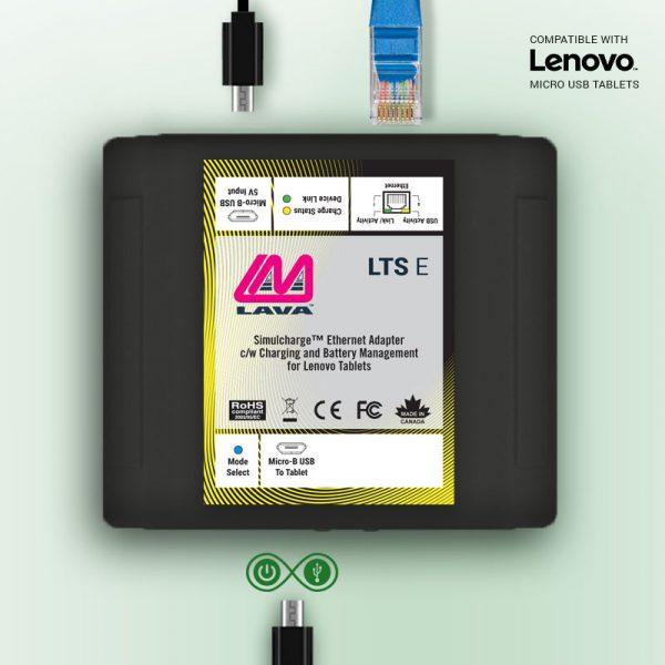 Lenovo Ethernet Powered Micro USB Adapter